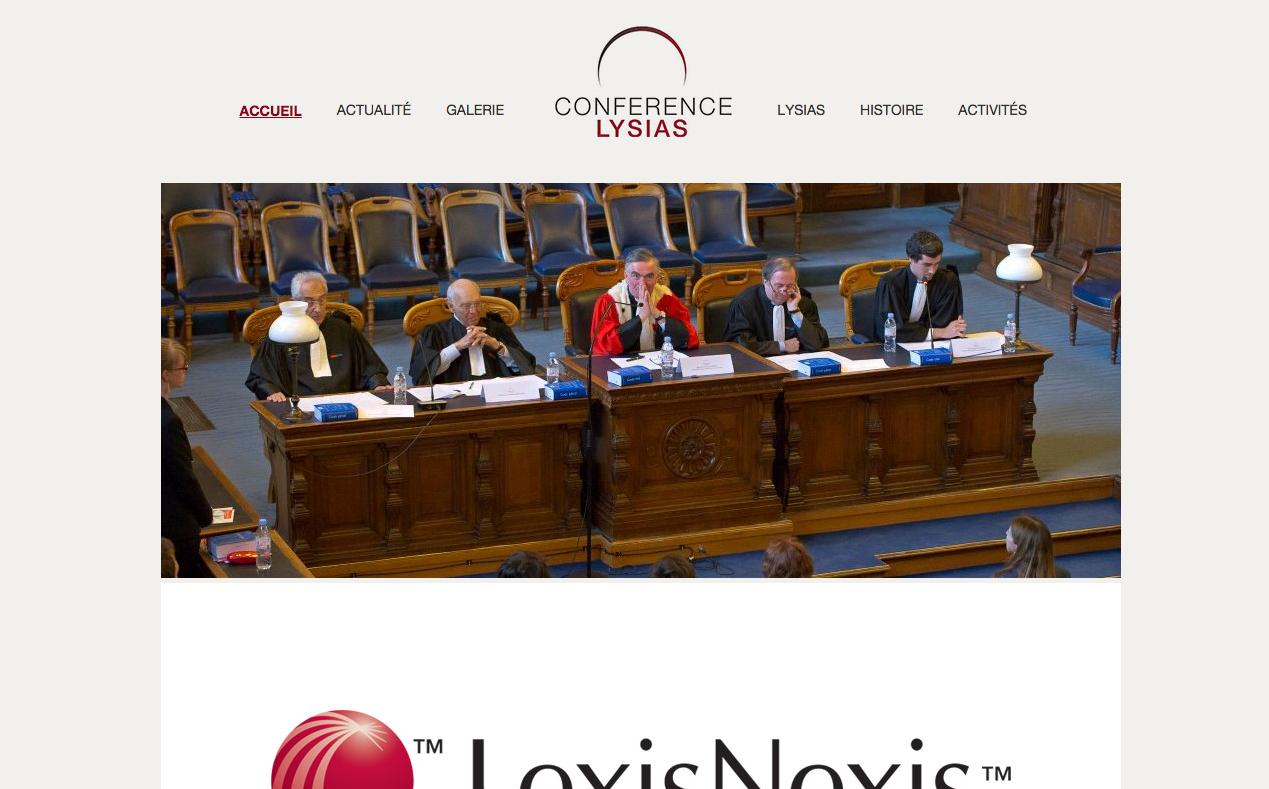 Conférence Lysias - Photo